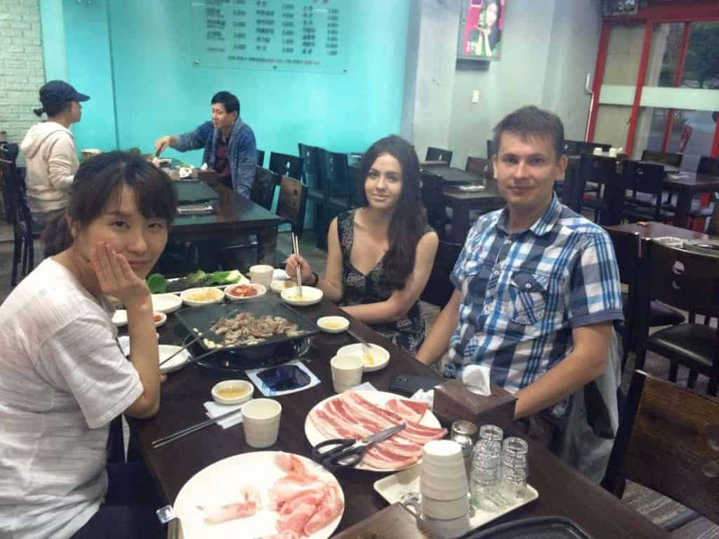 What to do in Seoul: Cook Korean BBQ!