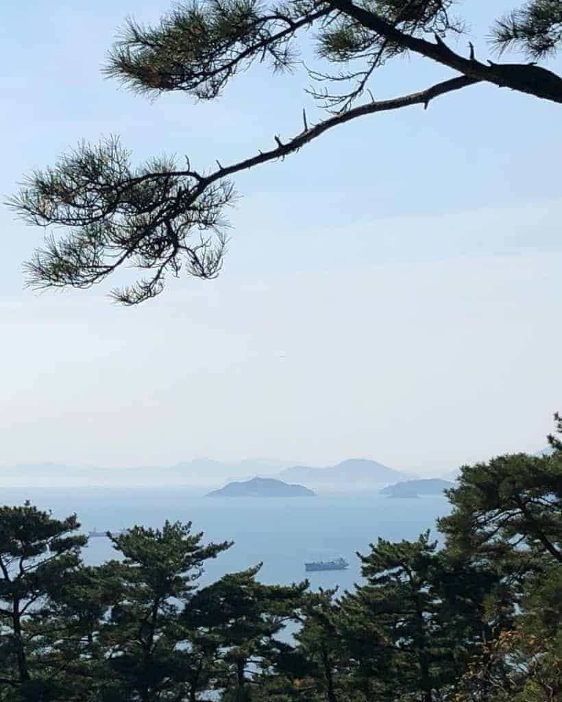 Most hiking trails in Korea are accessible all year round