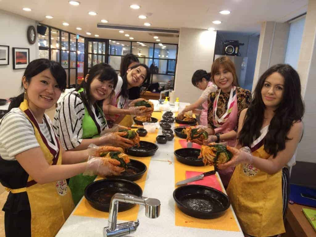 Consider taking a cooking class in Busan!