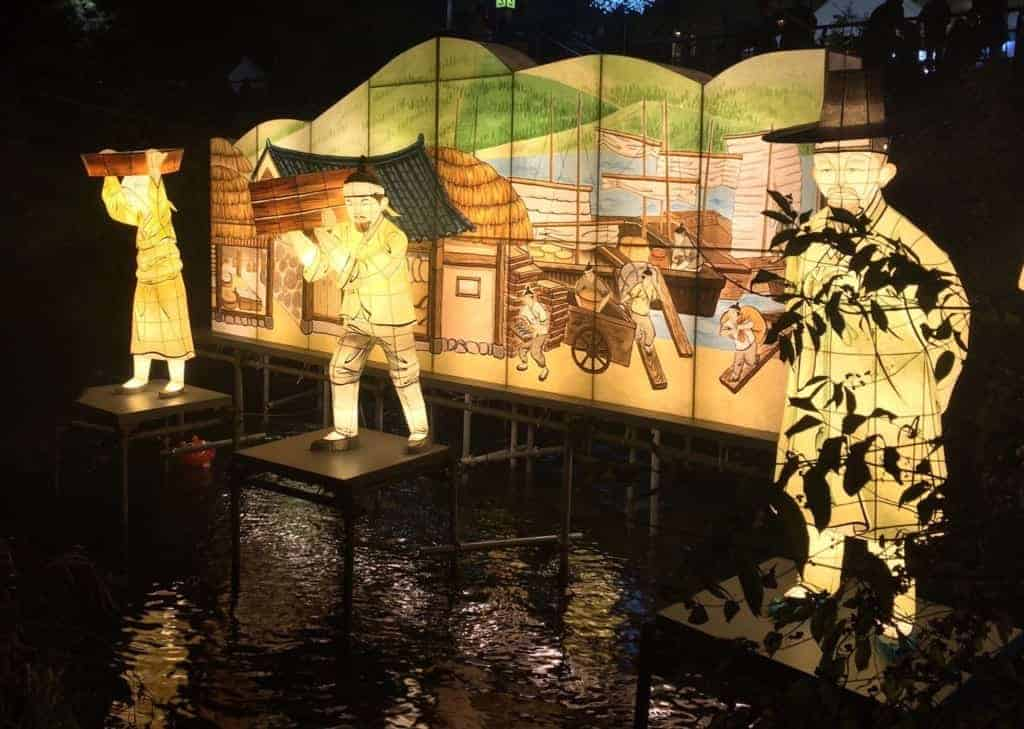 Seoul Lantern Festival: Depictions of life in Korea centuries ago