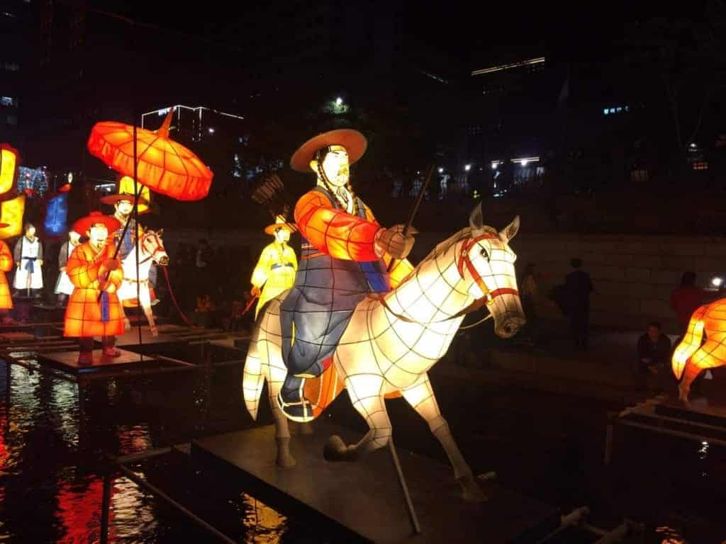 Seoul Lantern Festival: Themes often concentrate on aspects of Korean history and culture