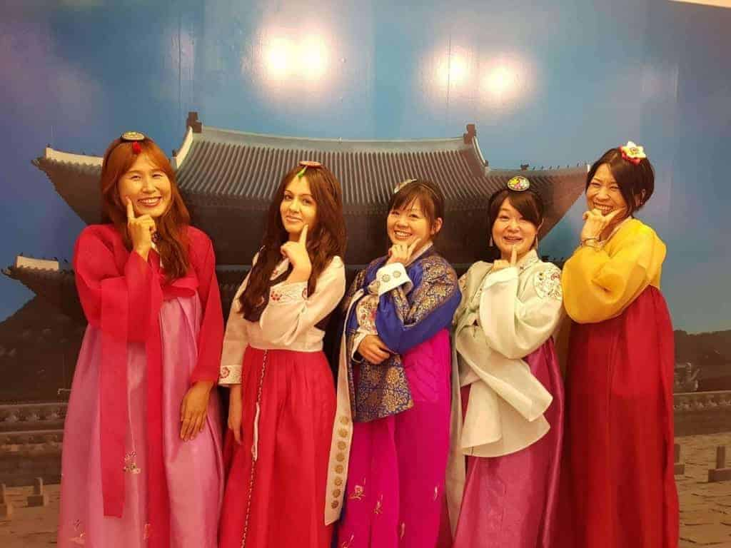 Rent a hanbok for the day - why not?