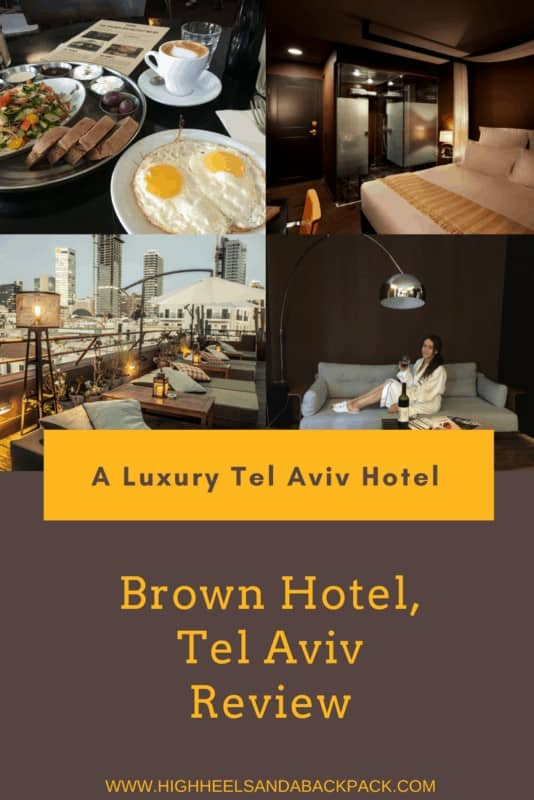 Brown Hotel Tel Aviv Review