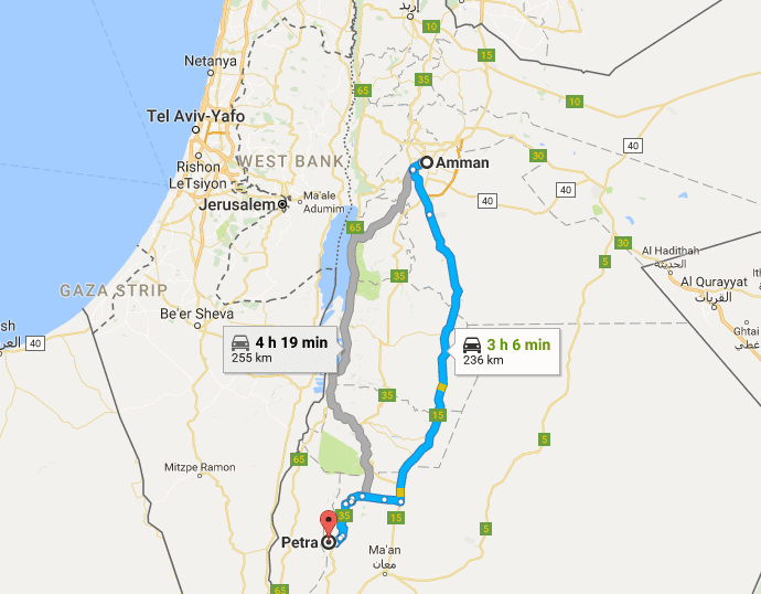 How to plan a trip to Petra