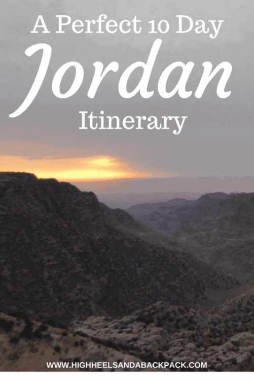 10 Day Jordan Itinerary