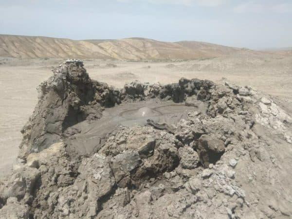 Mud Volcanoes Qobustan