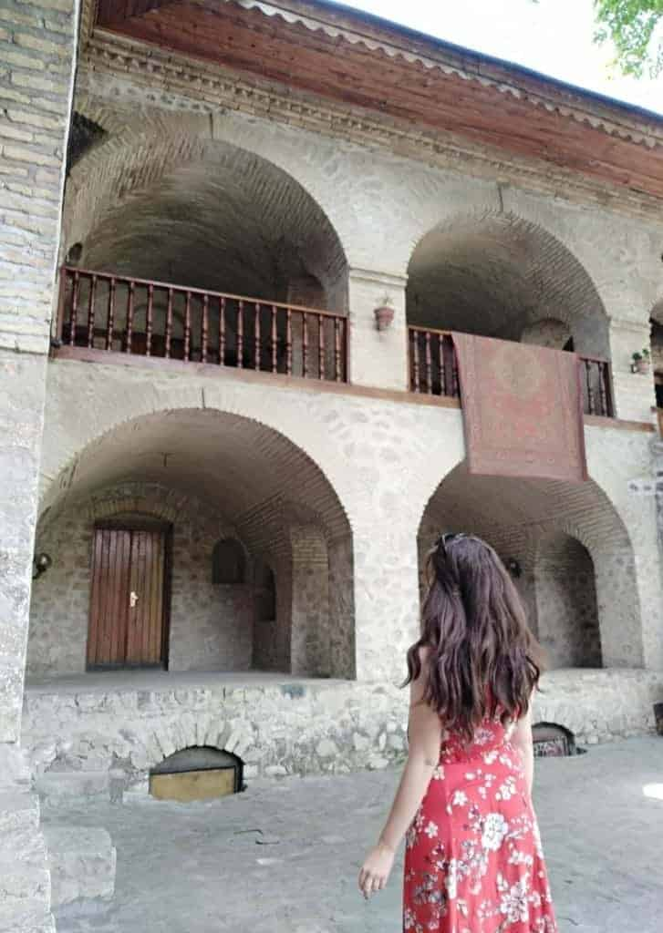 Azerbaijan Travel Guide: Staying at an old caravansary in Sheki