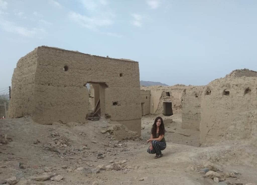 The ruined city of Fanja