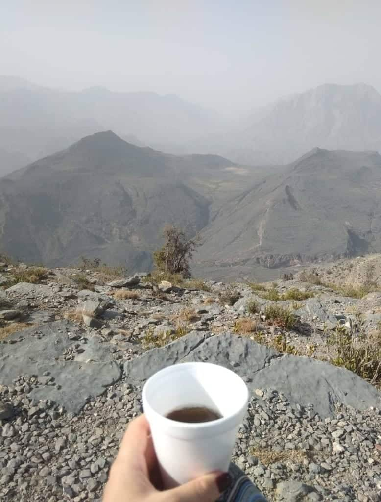 The Hajar Mountains