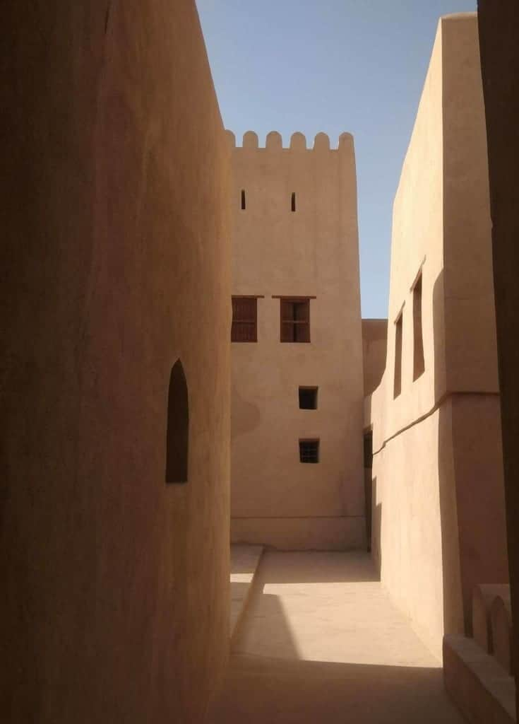 Renting a car in Oman: Nizwa Fort
