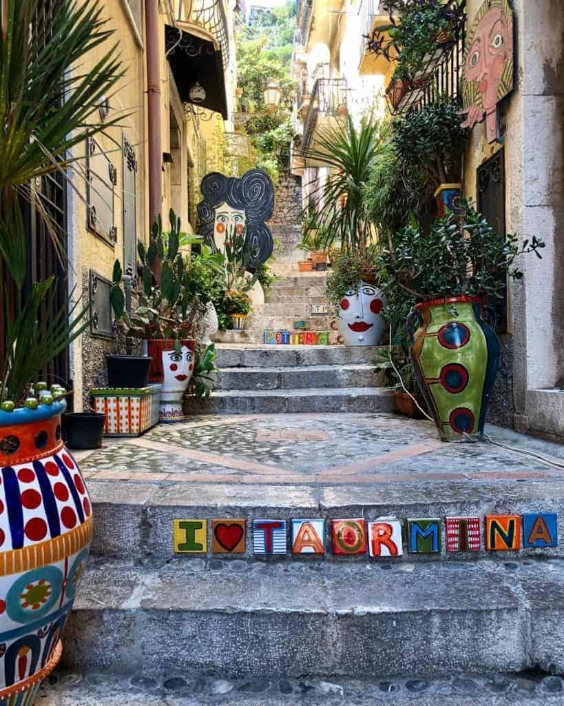 Quotes about Sicily: Beautiful Taormina, Eastern Sicily