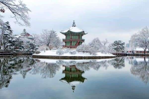 Places to Visit in Korea During Winter - Gyeongbokgung, Seoul