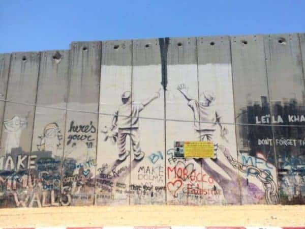 Banksy West Bank