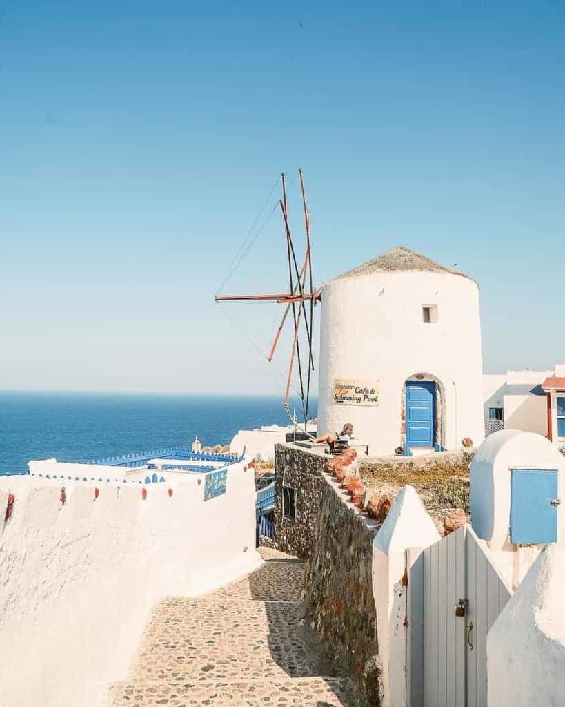 Santorini may be popular, but that does not detract from the island's charm
