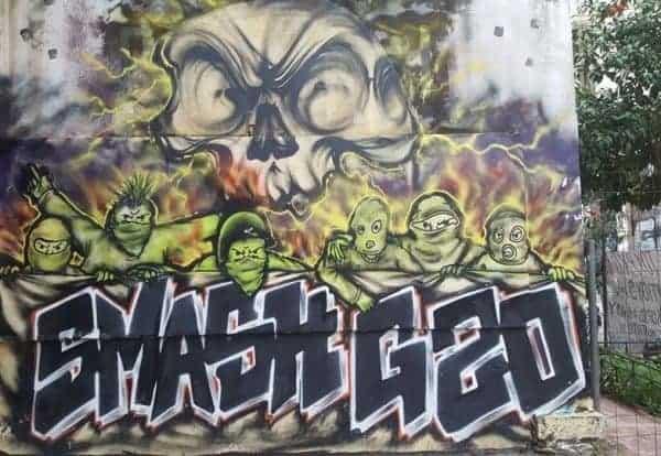 Exarchia Athens street art