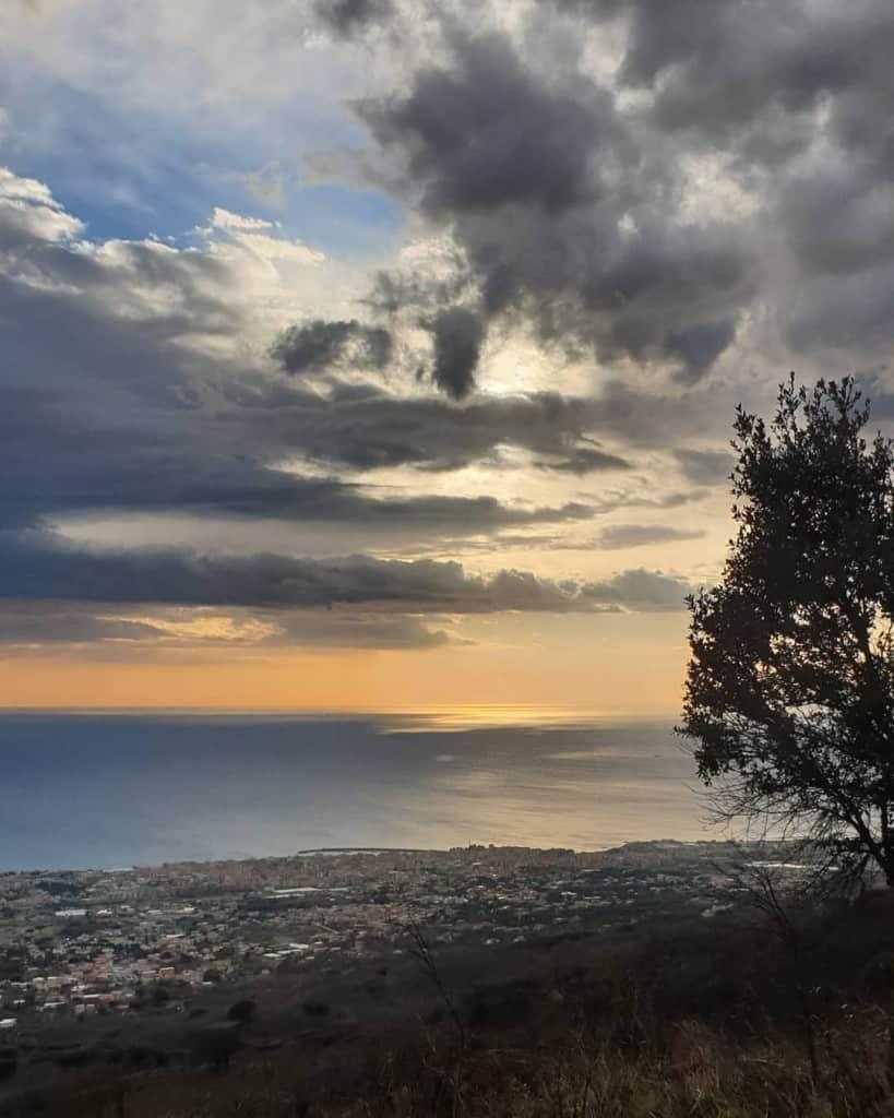 Vesuvius views Southern Italy