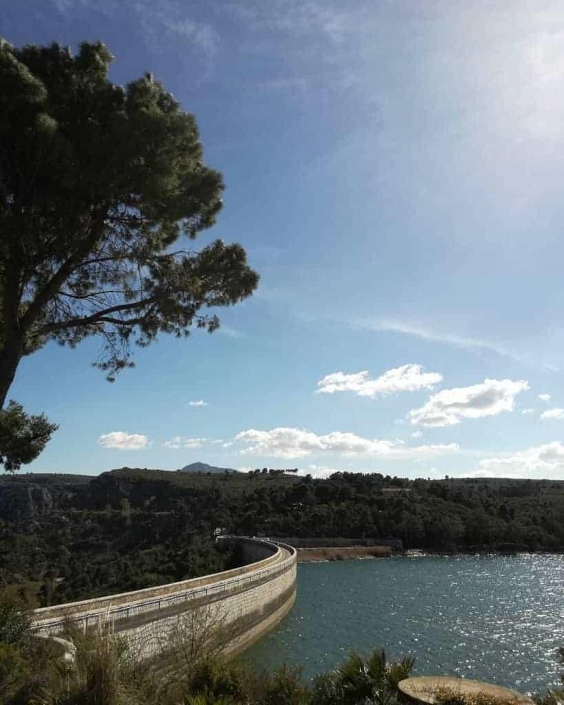 Lake Marathon, Southern Greece