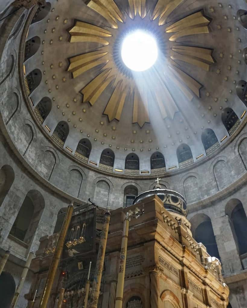 The Church of the Holy Sepulchre, Jerusalem
