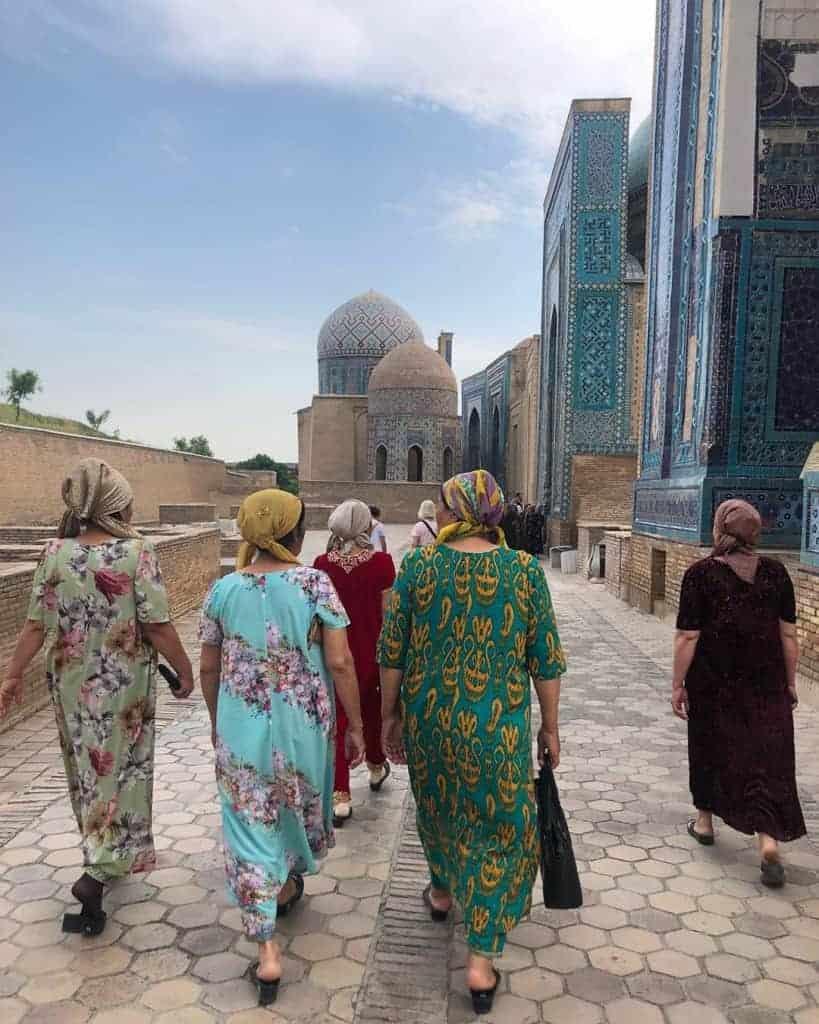 Shah i Zinda, Samarkand