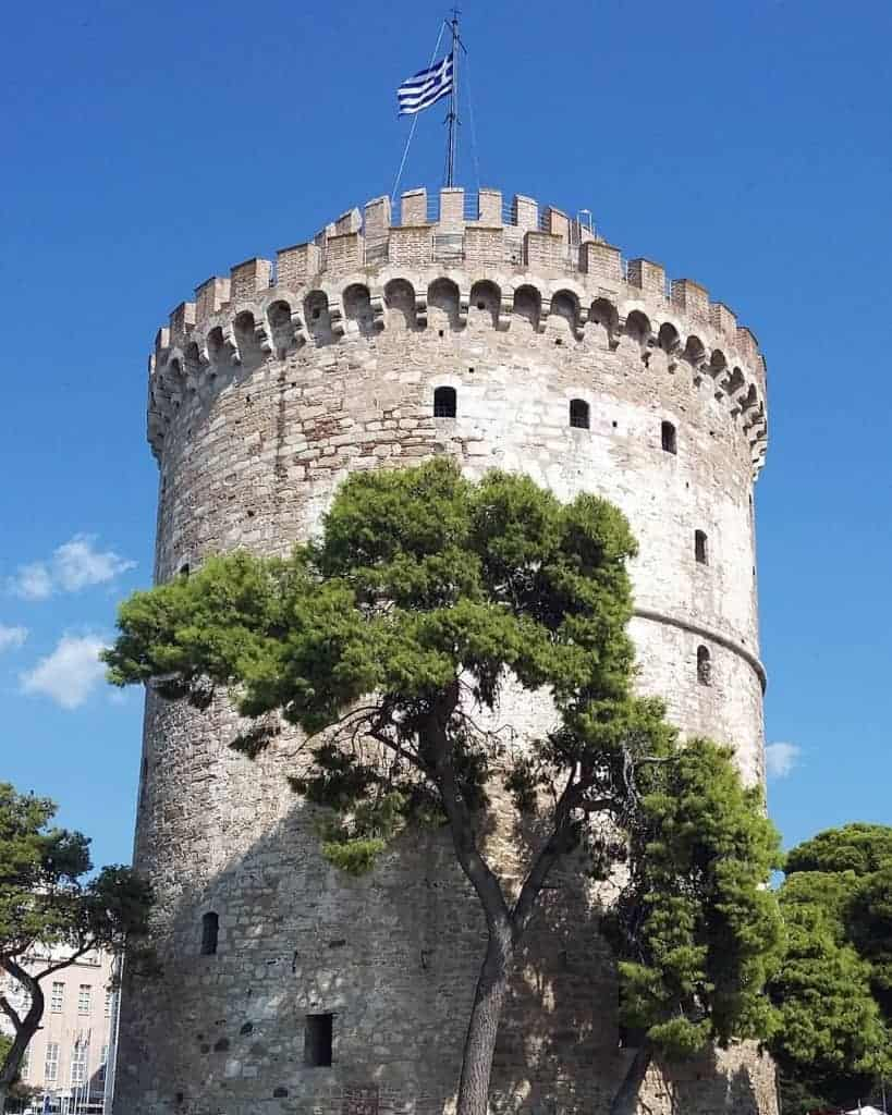 The iconic White Tower of Thessaloniki