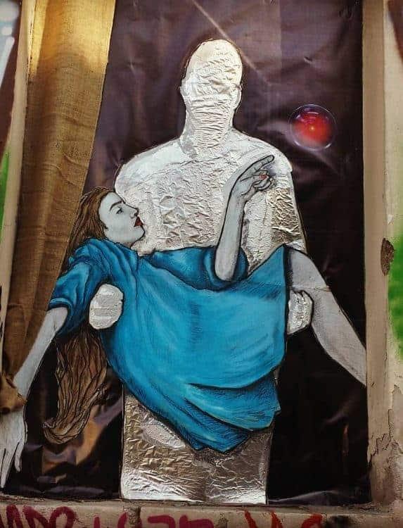 Street art in Gazi