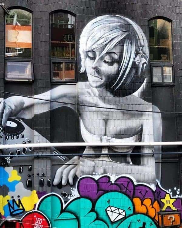 Awesome street art in Jeju City