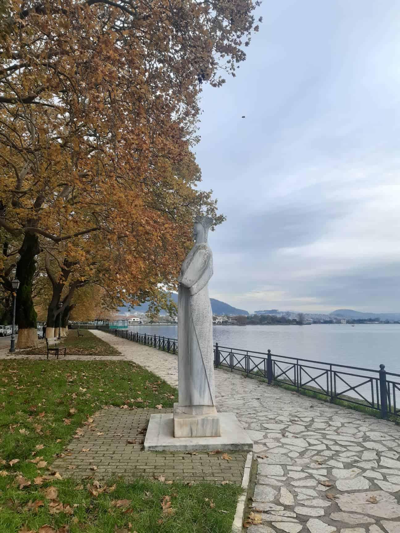 Strolling along Lake Pamvotida, Ioannina