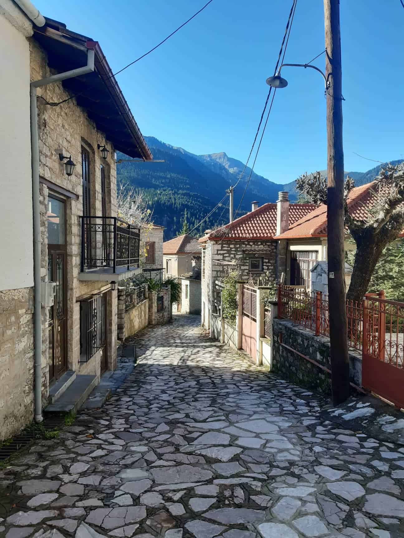 The adorable village of Palio Mikro Chorio