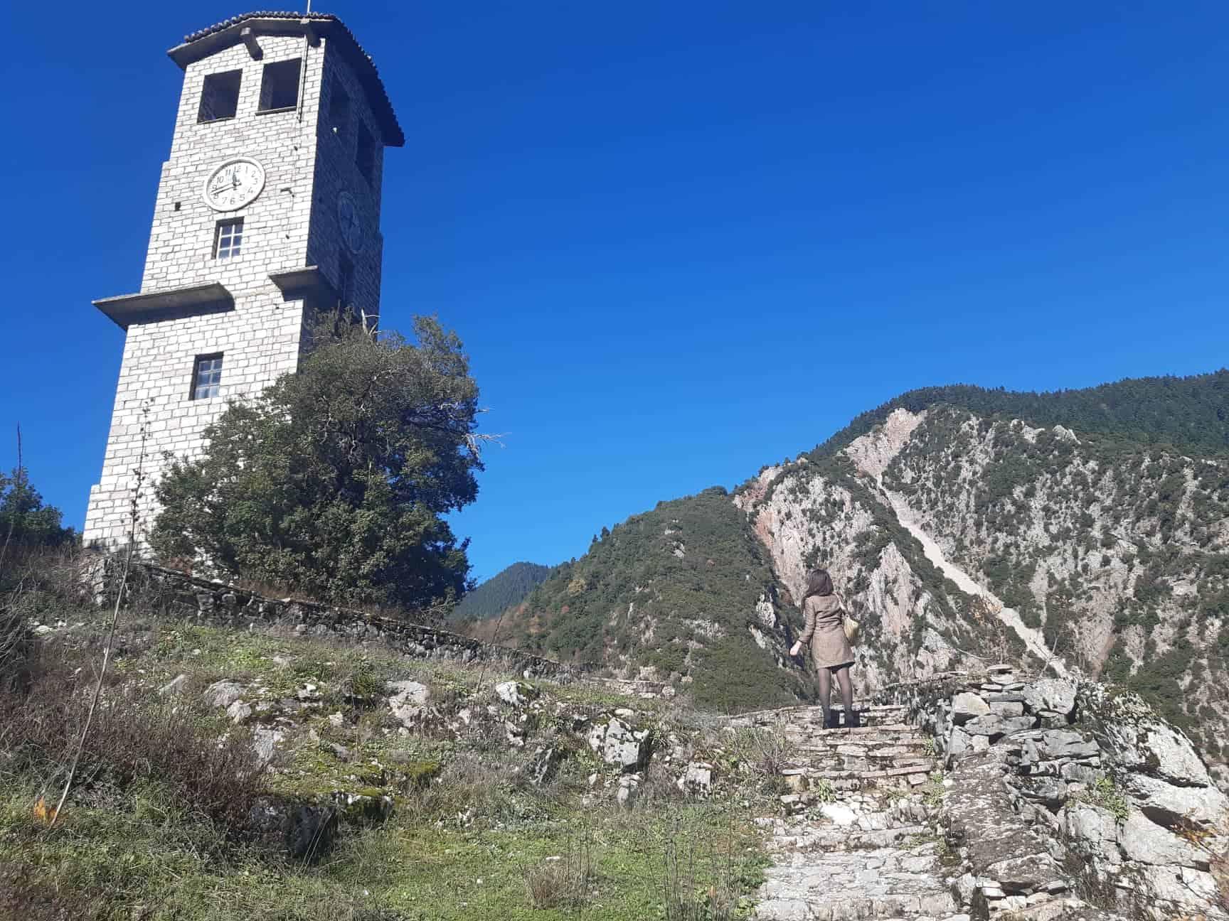 Proussos Monastery, central Greece