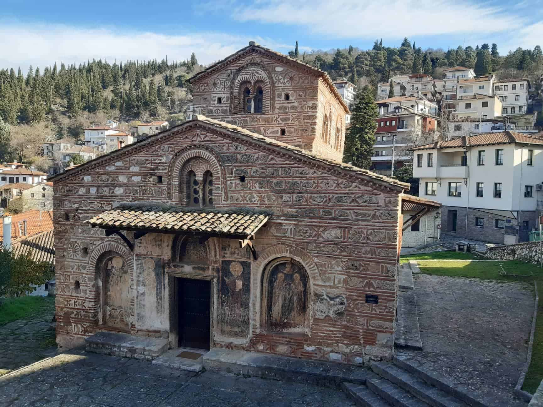 Ancient Byzantine churches occupy virtually every street corner