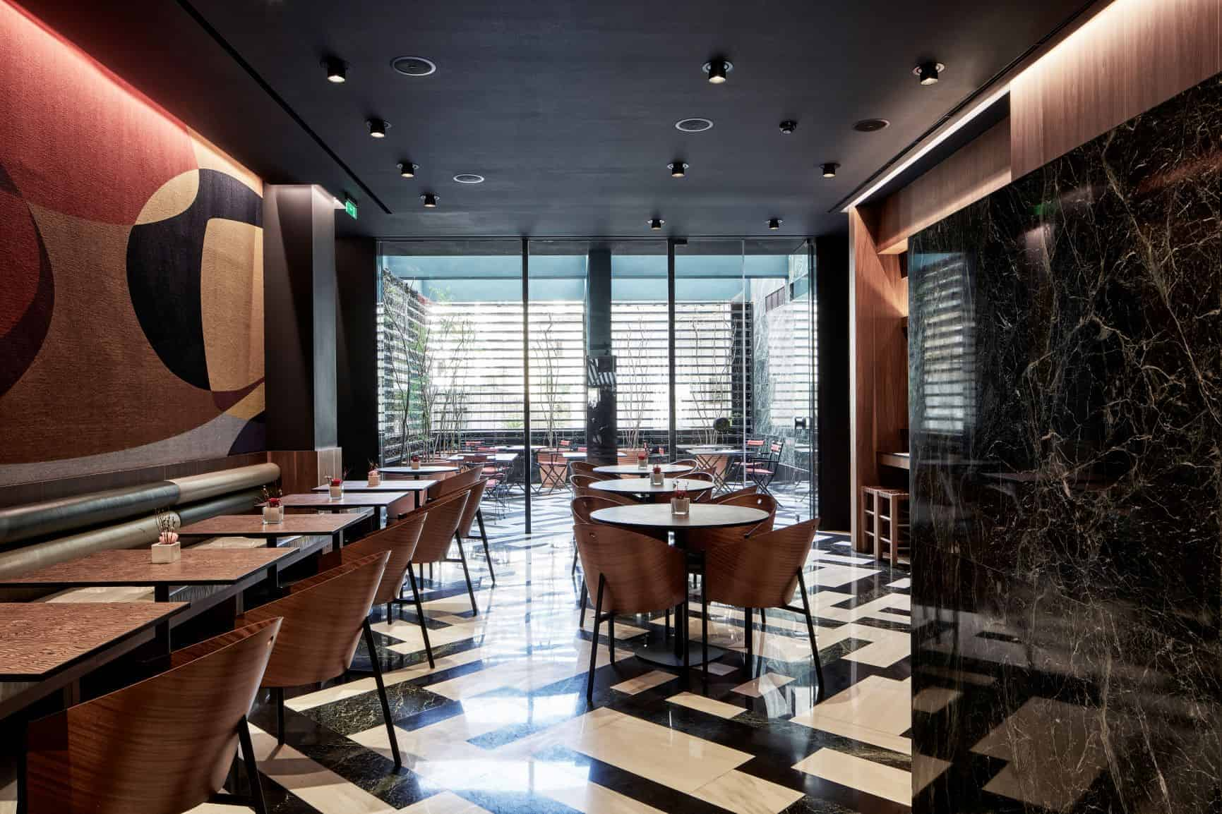 Promenade Restaurant, AthensWas Hotel