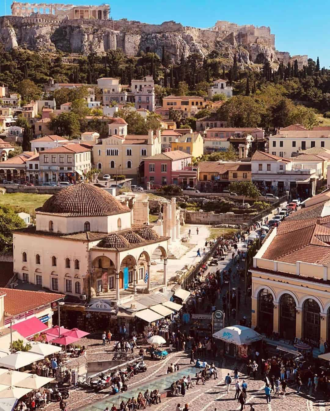 Visiting A for Athens in Monastiraki places you at the heart of the Greek capital