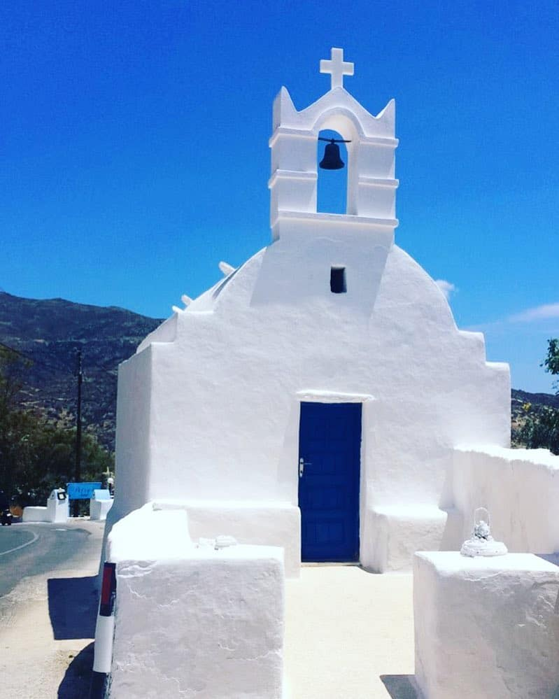 What is Greece famous for? Whitewashed Cycladic Architecture
