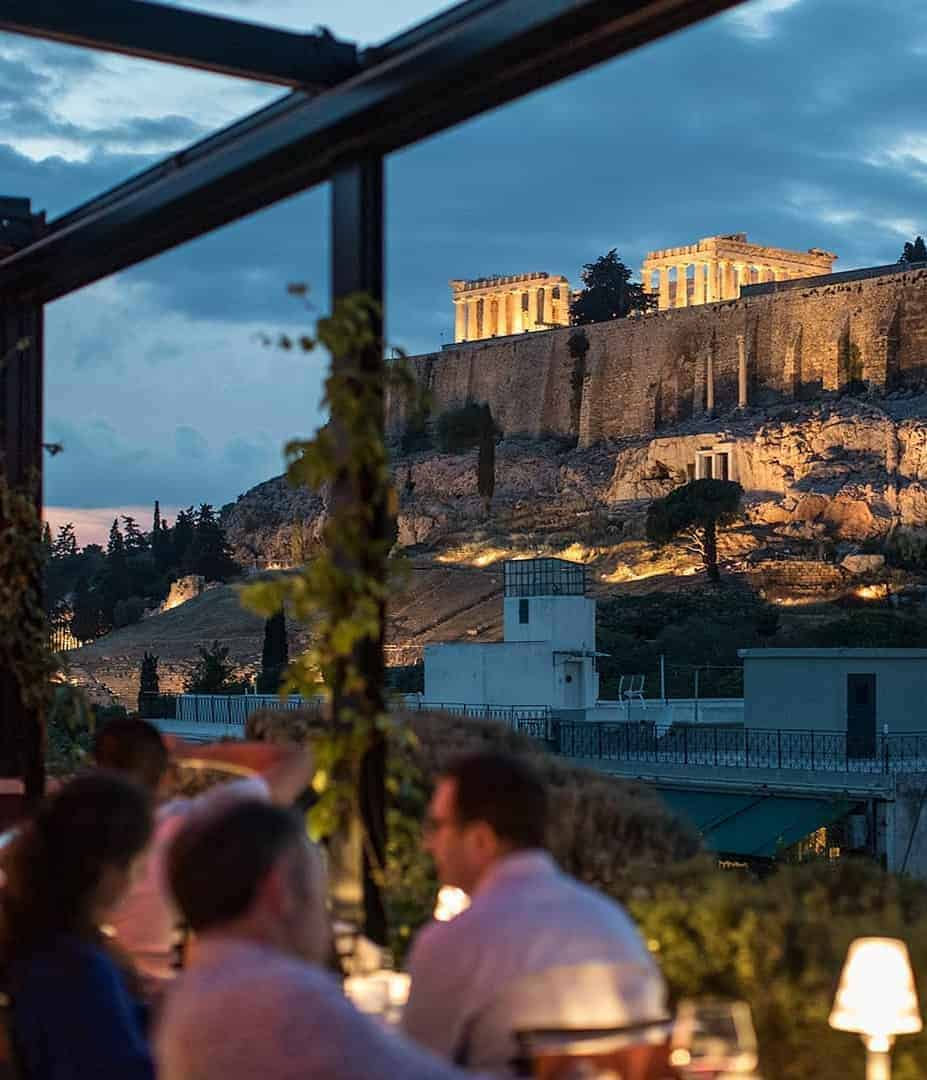 Best Rooftop Bars in Athens: Sense Restaurant, AthensWas