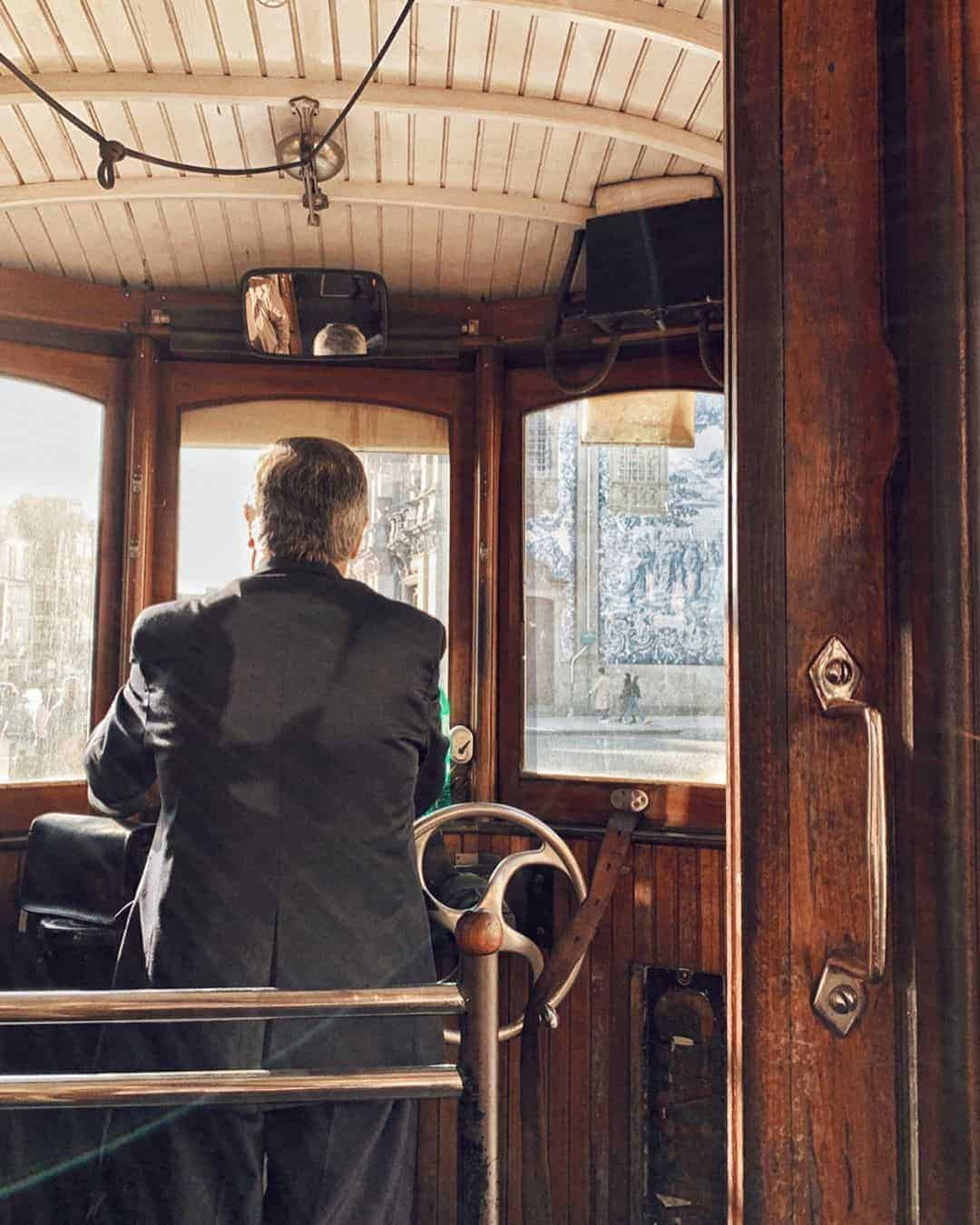 Things to do in Porto: Ride the old-fashioned trolley across town
