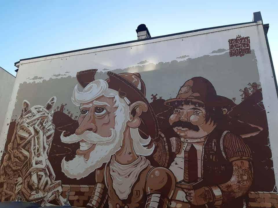 D. Quixote, Porto