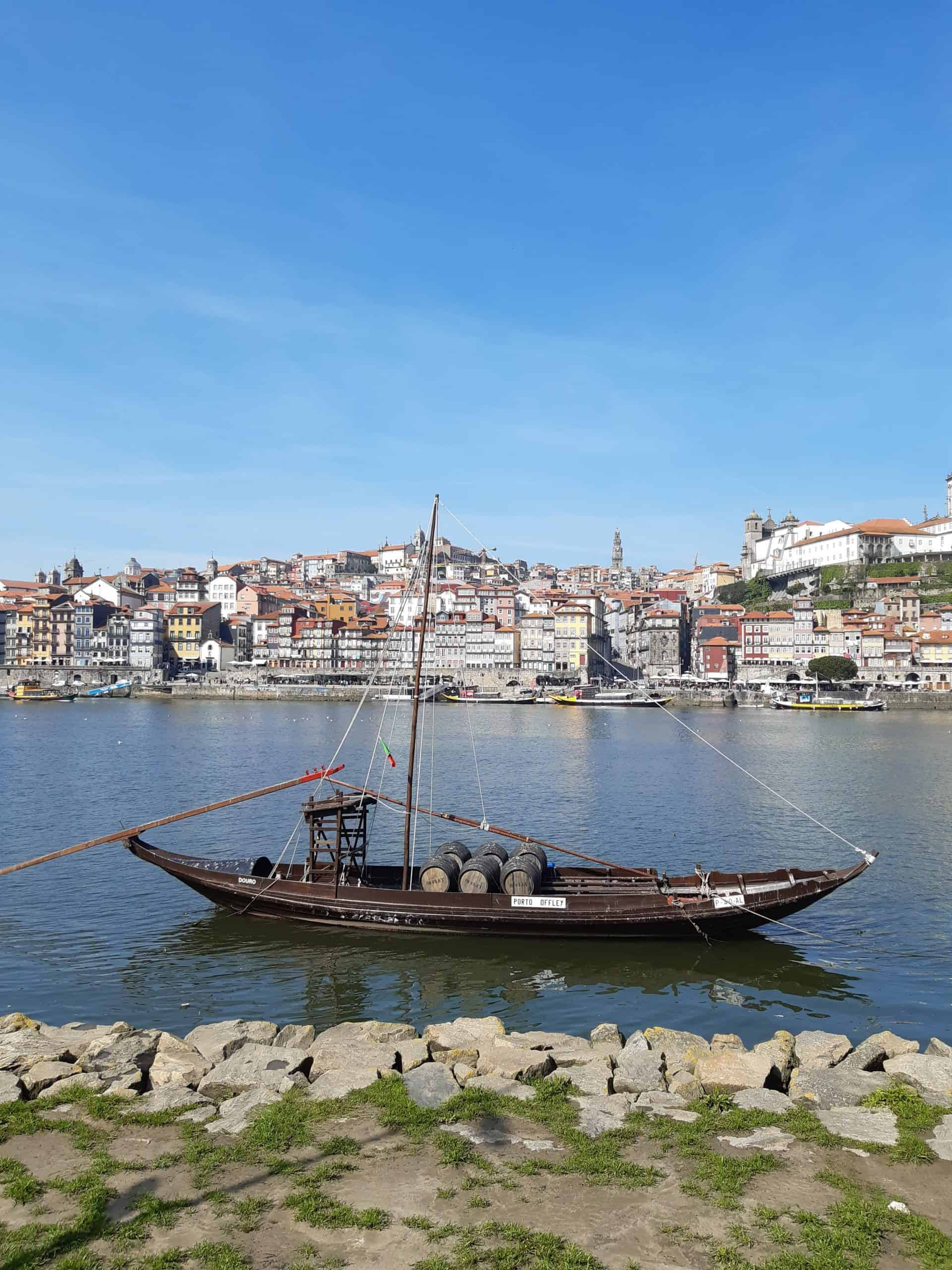 Views of Porto from Vila Nova de Gaia