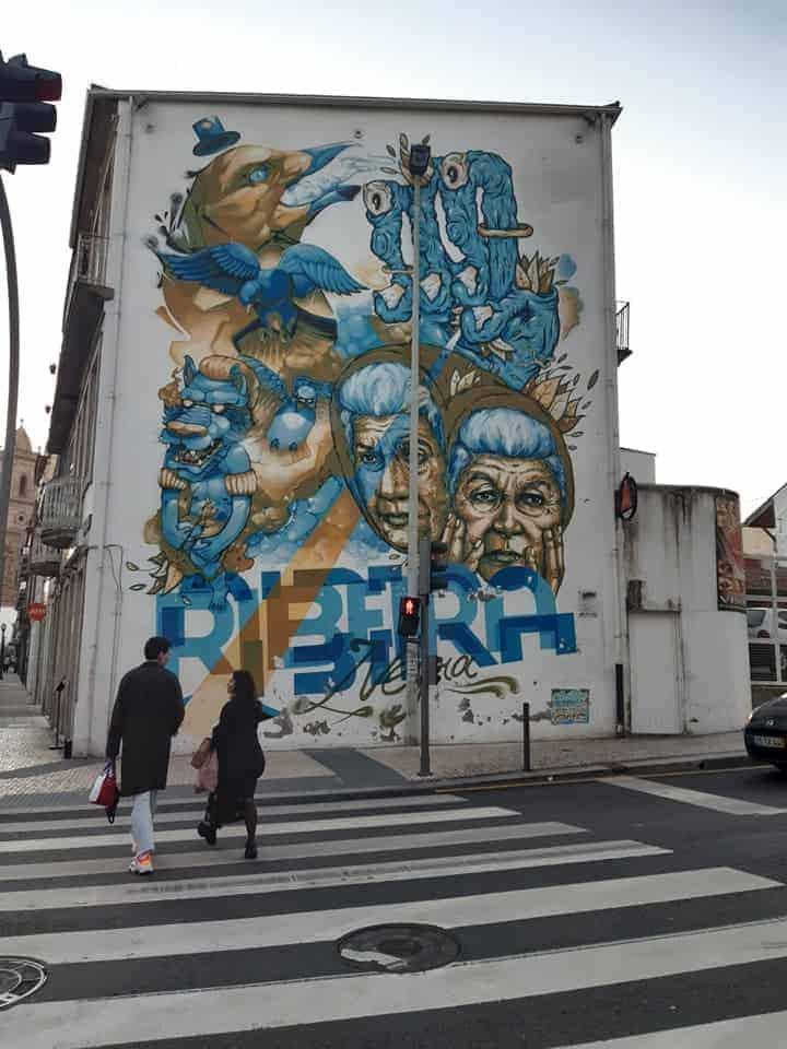 Street Art in Porto: Ribiera
