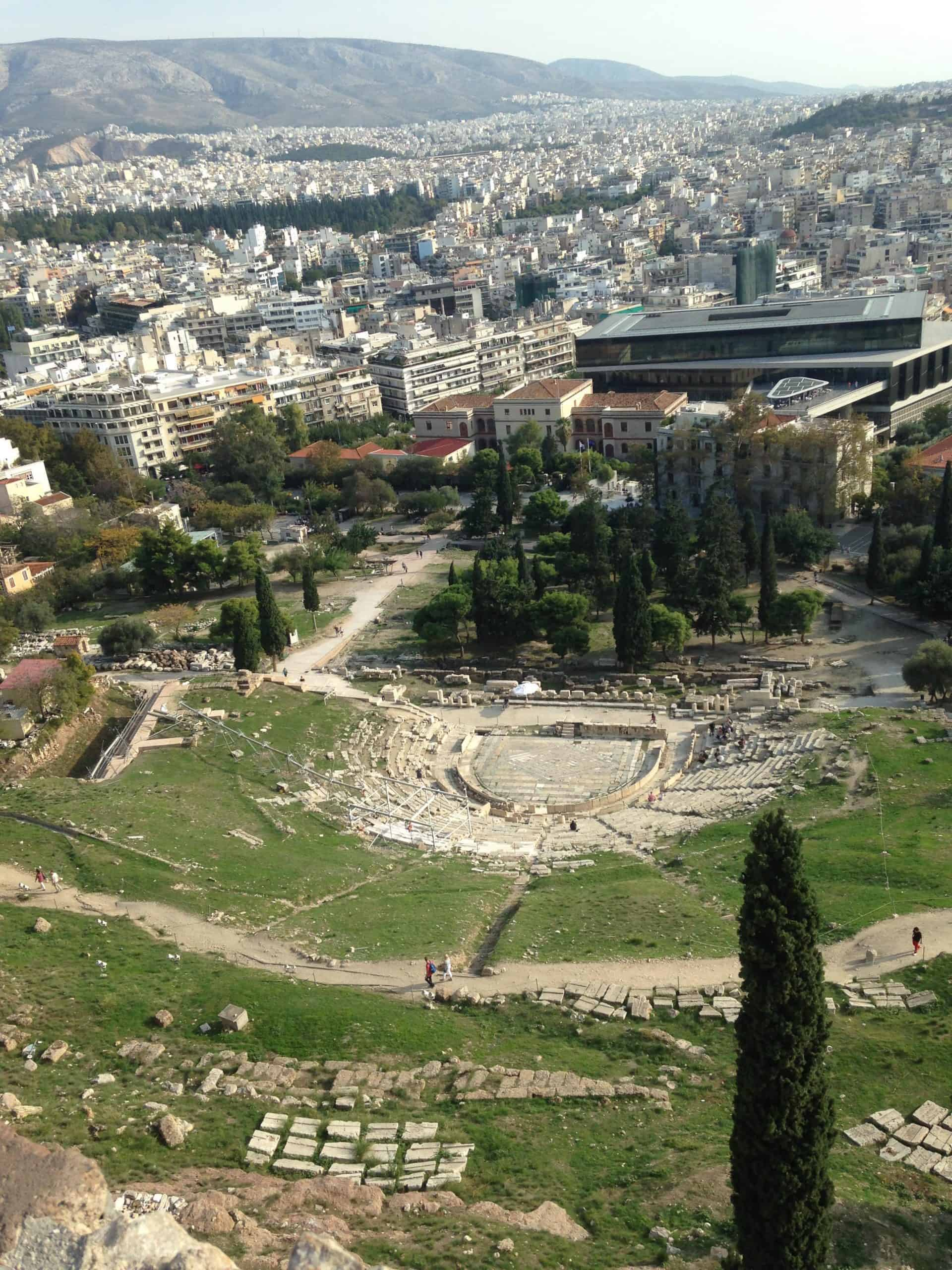 Visiting the Acropolis