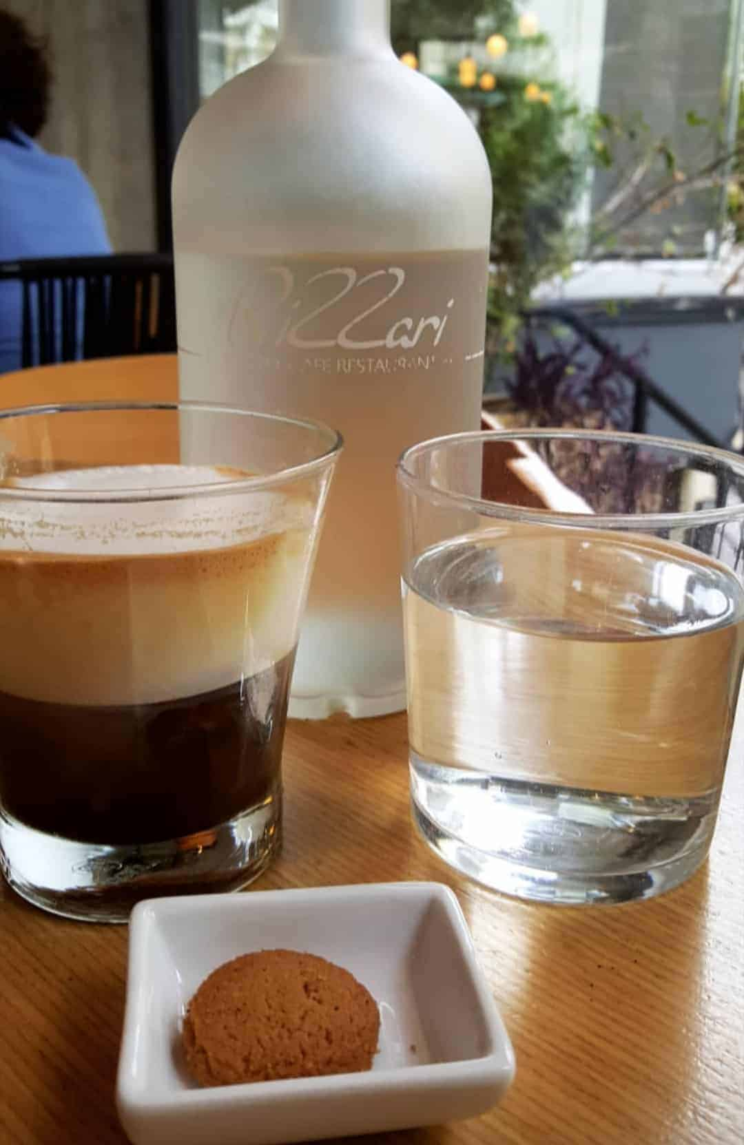Greek coffee culture: A freddo espresso at one of my favourite coffee shops in Athens