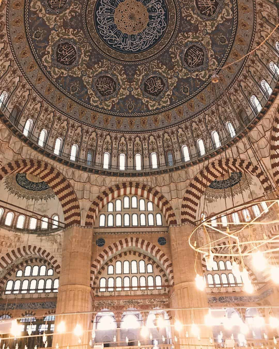 The beautiful Selimiye Mosque of Erdine