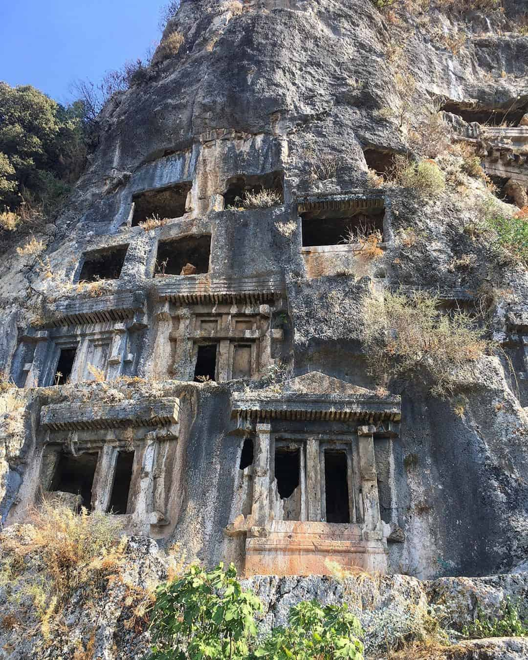 Day Trips from Antalya: Fethiye Tombs