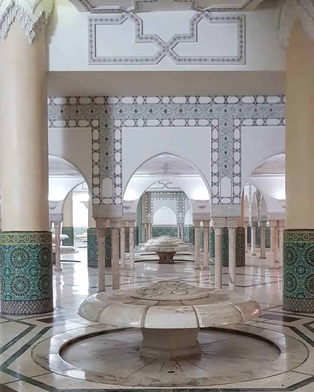 Morocco Itinerary: Mosque Hassan