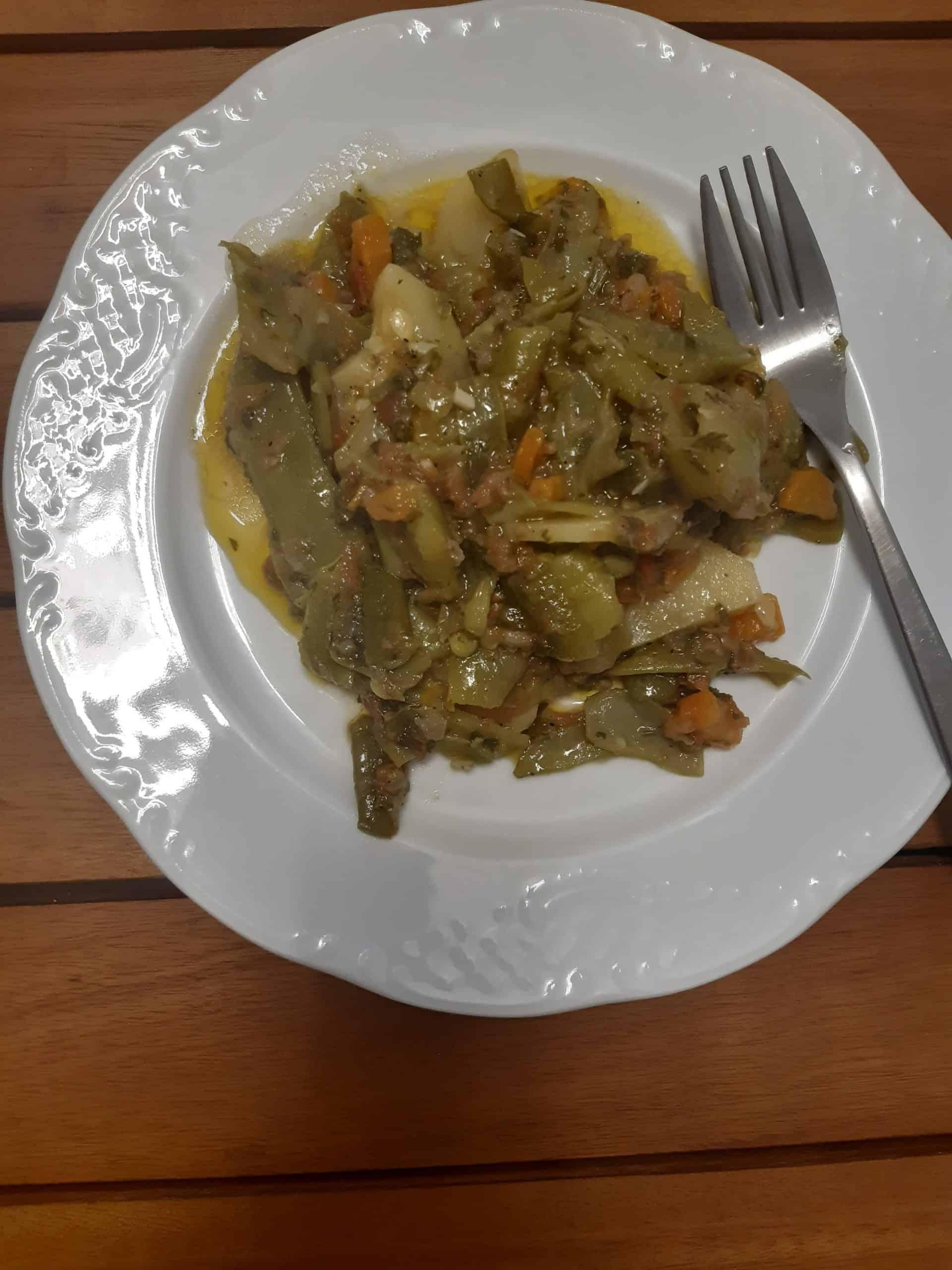 Greek Food: Fasolakia
