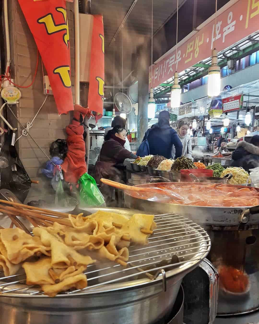 Korean street food: Odeng
