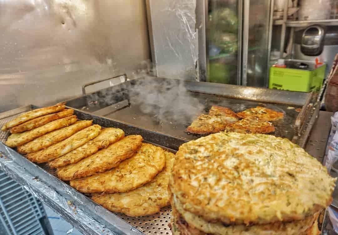 Korean savoury pancakes
