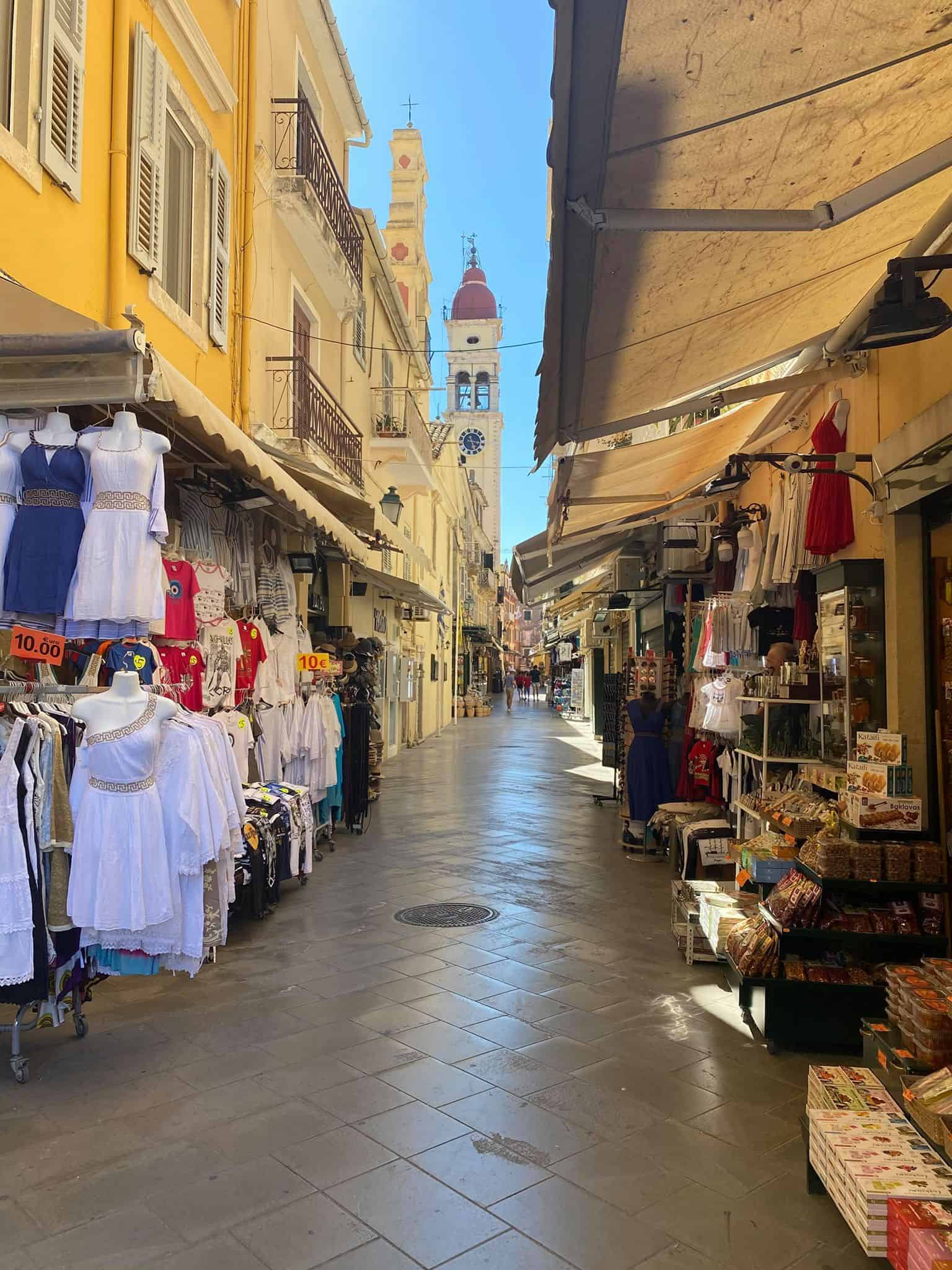 Best places to visit in Corfu: Corfu Old Town