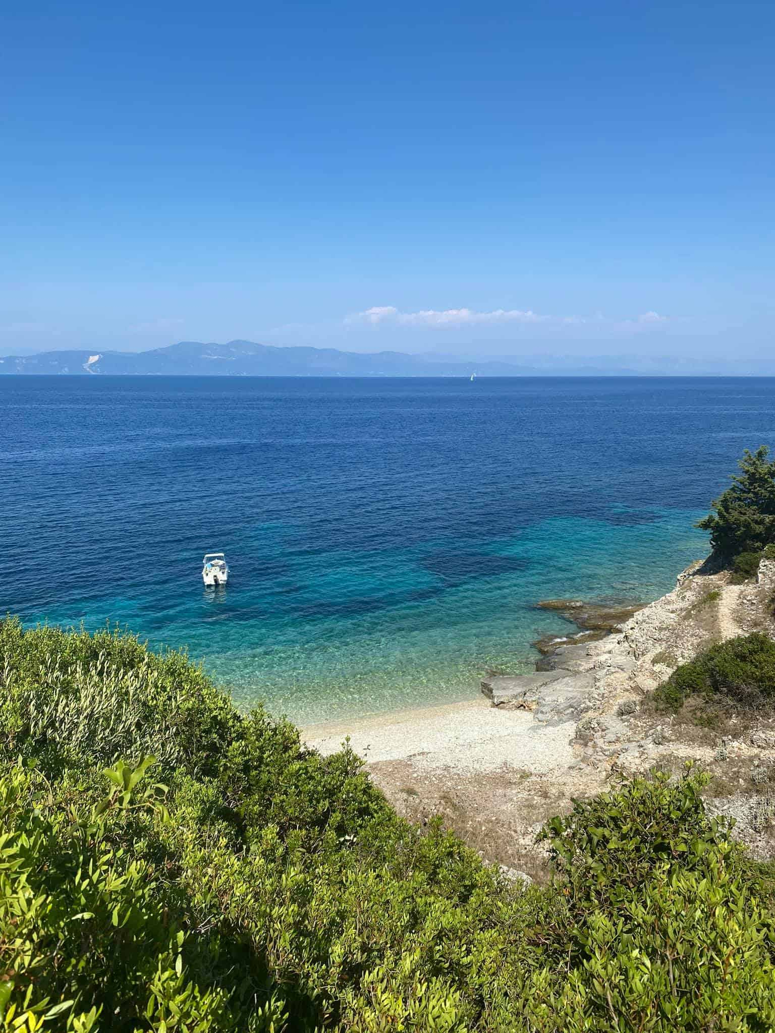 Greek mythology stories: The island of Paxos