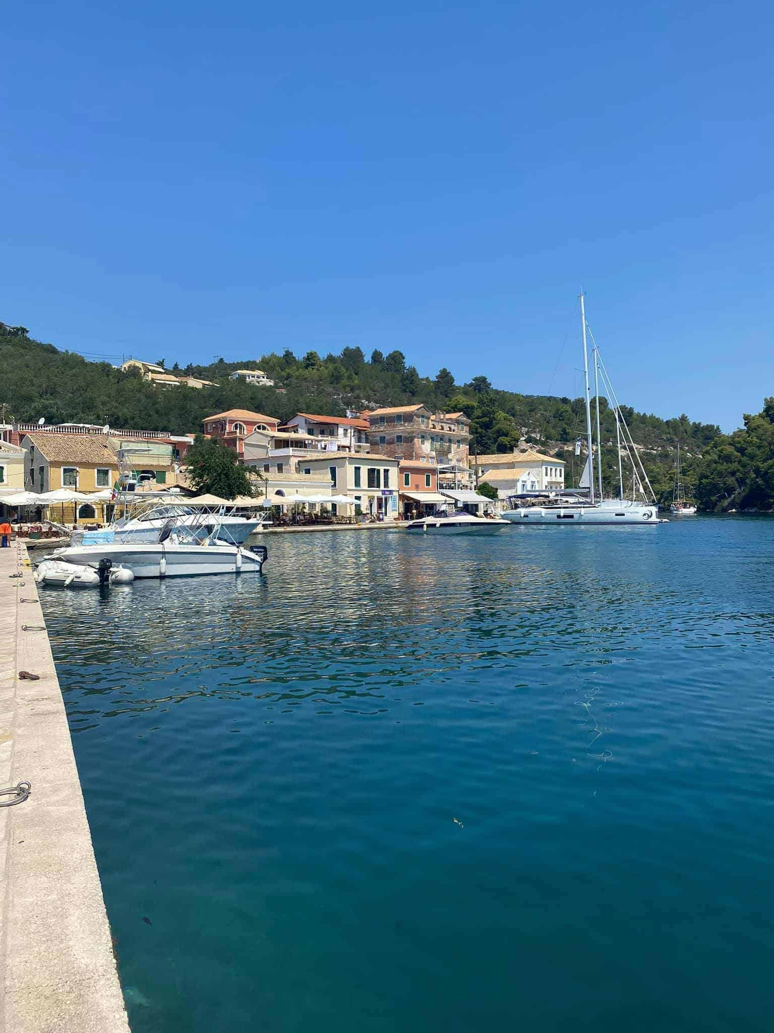Gaios Port, Paxos, Greece