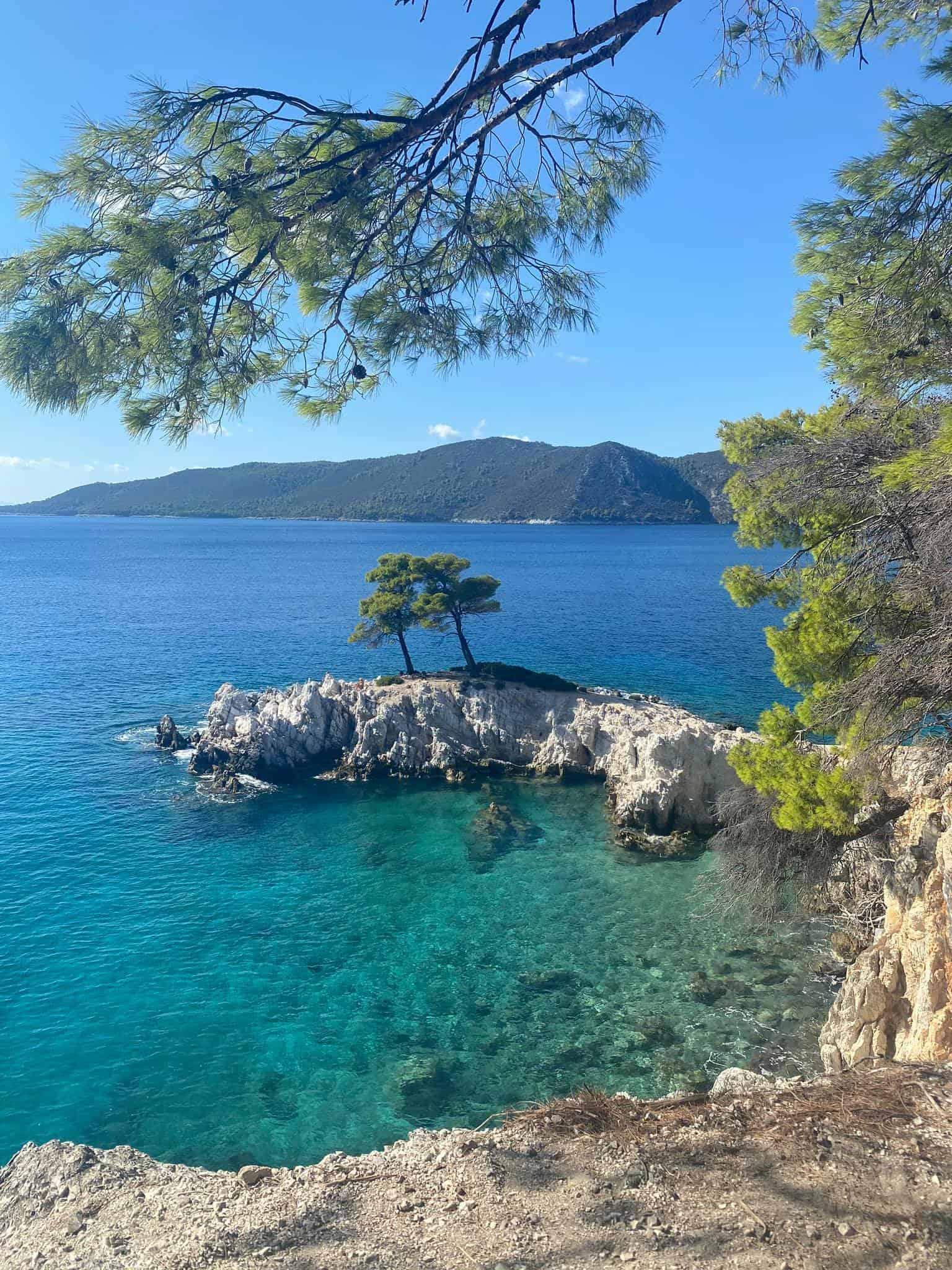 Skopelos holidays: Cape Amarandos
